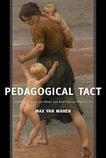 Pedagogical Tact af Max Van Manen