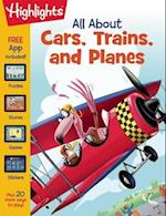 All About Cars, Trains, and Planes af Highlights