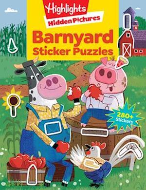 Bog, paperback Barnyard Sticker Puzzles af Highlights
