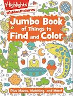 Jumbo Book of Things to Find and Color (Highlightstm Jumbo Books Pads)
