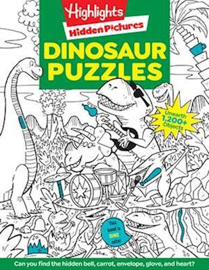Bog, paperback Dinosaur Puzzles af Highlights