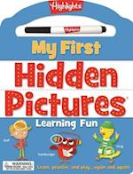 My First Hidden Pictures(tm) Learning Fun (My First Write On Wipe Off Board Book)