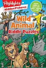 Wild Animal Riddle Puzzles (Highlightstm Hidden Picturesr Riddle Puzzle Pads)