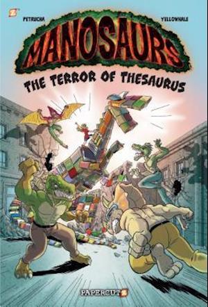 Bog, hardback Manosaurs Vol. 2: af Stefan Petrucha