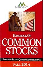 Mergent's Handbook of Common Stocks  2014 Fall af Mergent