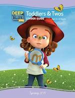 Deep Blue Kids Toddlers & Twos Leader Guide Spring 2018 (Deep Blue)