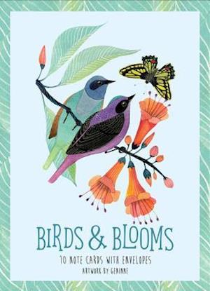 Bog, ukendt format Birds & Blooms Artwork By Geninne