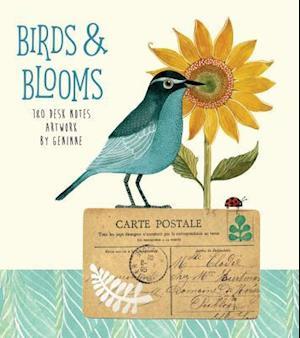 Birds & Blooms  180 Desk Notes
