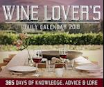 Wine Lover's Daily Calendar 2018