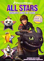 All-Stars Gigantic Book to Color
