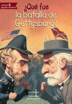 ¿Qué fue la batalla de Gettysburg?/ What was the battle of Gettysburg? (Que fue What Was)