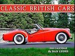 Classic British Cars 2018 Calendar