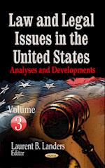 Law and Legal Issues in the United States Volume 3 af Laurent B. Landers