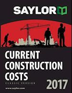 Saylor Current Construction Costs 2017