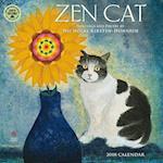 Zen Cat 2018 Calendar