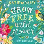 Katie Daisy 2018 Wall Calendar