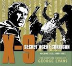 X-9 Secret Agent Corrigan af George Evans