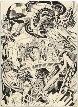 Bog, hardback Jack Kirby Forever People Artist's Edition af Jack Kirby