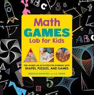 Bog, paperback Math Games Lab for Kids af Rebecca Rapoport