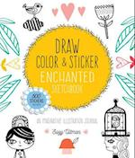 Draw, Color, and Sticker Enchanted Sketchbook af Suzy Ultman