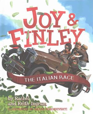 Bog, hardback Joy & Finley af Keith Ingram, Rachel Ingram