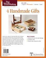 Fine Woodworking's 4 Handmade Gifts Plan