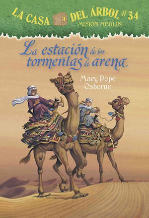 Bog, paperback La estacion de las tormentas de arena / Season of the Sandstorms af Mary Pope Osborne