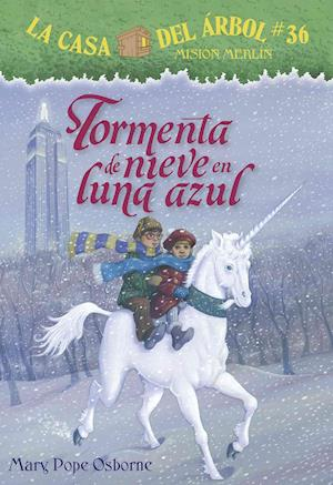 Bog, paperback Tormenta de nieve en luna azul/ Blizzard of the Blue Moon af Mary Pope Osborne