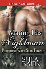 Mating His Nightmare [Paranormal Wars: Stone Haven 5] (Siren Publishing Classic ManLove)