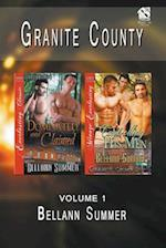 Granite County, Volume 1 [Dominated and Claimed : Controlling His Men] (Siren Publishing: The Bellann Summer ManLove Collection)