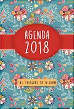 The Treasure of Wisdom 2018 Agenda - Birds and Flowers Cover
