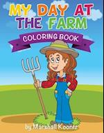 My Day at the Farm Coloring Book af Marshall Koontz