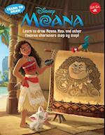 Learn to Draw Disney's Moana (Licensed Learn to Draw)