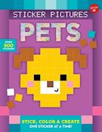 Sticker Pictures: Pets (Sticker Color By Number)