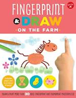 Fingerprint & Draw: On the Farm (Drawing with Your Fingers)