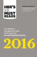 HBR's 10 Must Reads 2016 af harvard Business Review