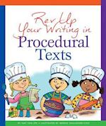Rev Up Your Writing in Procedural Texts (Rev Up Your Writing)