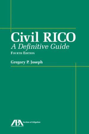 Bog, paperback Civil Rico af Greg P. Joespeh