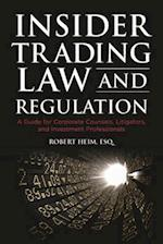 Insider Trading Law and Regulation
