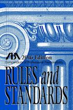 Compendium of Professional Responsibility Rules and Standards 2016