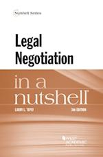 Legal Negotiation in a Nutshell (Nutshell)