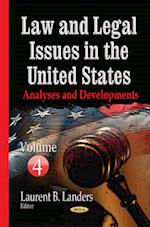 Law and Legal Issues in the United States af Laurent B. Landers