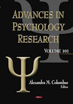 Advances in Psychology Research af Alexandra M. Columbus