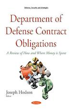 Department of Defense Contract Obligations af Joseph Hodson