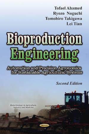 Bog, hardback Bioproduction Engineering af Tofael Ahamed