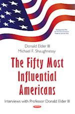 Fifty Most Influential Americans af Michael F. Shaughnessy