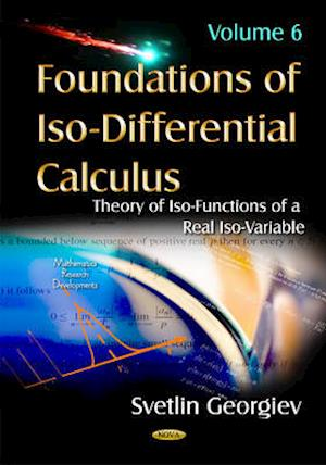 Bog, hardback Foundations of ISO-Differential Calculus af Svetlin Georgiev