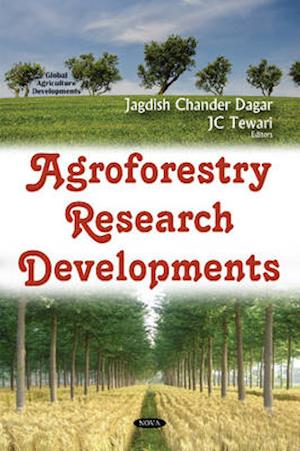 Bog, hardback Agroforestry Research Developments af Jagdish Chander Dagar