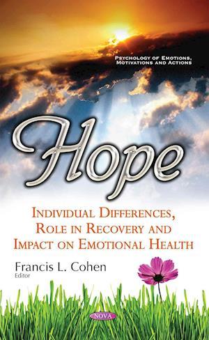 Bog, hardback Hope af Francis L. Cohen