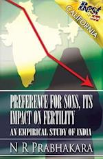 Preference for Sons, Its Impact on Fertility